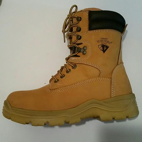 8c082a27291 Herman Survivor Men's Big Timber Steel Toe Boot
